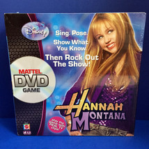 Hannah Montana Disney DVD Game Mattel Music Fashion Pose New Sealed - $12.86