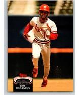 1992 Stadium Club #571 Jose Oquendo NM-MT Cardinals - $0.75