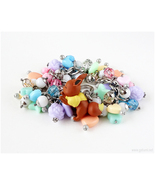 Eevee bracelet, Pokemon Jewelry, Fairy Kei Jewelry - $49.00