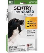 Sentry Fiproguard For Dogs Squeeze-on (23-44 pounds) - 3 Ct  - €12,10 EUR