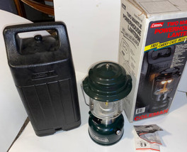 COLEMAN Powerhouse #290A746 Two Mantle Lantern in Box Carry Case Nice Do... - $127.71