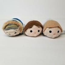 (3) Star Wars Tsum Tsum Plush Stuffed Luke Skywalker and Hans Solo - $12.26