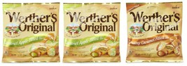 Werther's Original Candies in Assorted Flavors - Mixed lot of 3 Bags - $13.99