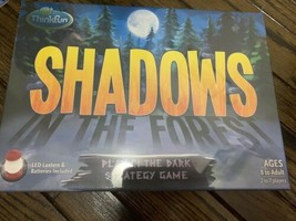 ThinkFun 1052-T Shadows in The Forest Play in The Dark Strategy Game - $19.80