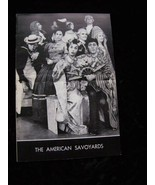 The American Savoyards Program Vintage - $12.99