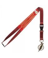 The Flash Logo Suit Up Dc Comics ID Badge Holder Keychain Lanyard - $8.75