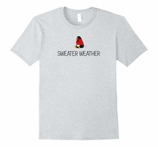 New Shirts - Penguin in Sweater Weather Autumn T-shirt Men - £15.30 GBP+