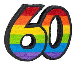 60th Birthday Pinata - $13.69