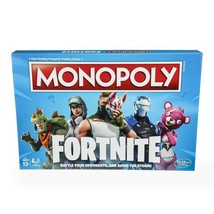 Monopoly: Fortnite Edition Board Game Inspired by Fortnite Video Game Ag... - $12.46
