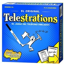 USAOPOLY Spanish Edition Telestrations Board Games - $33.34