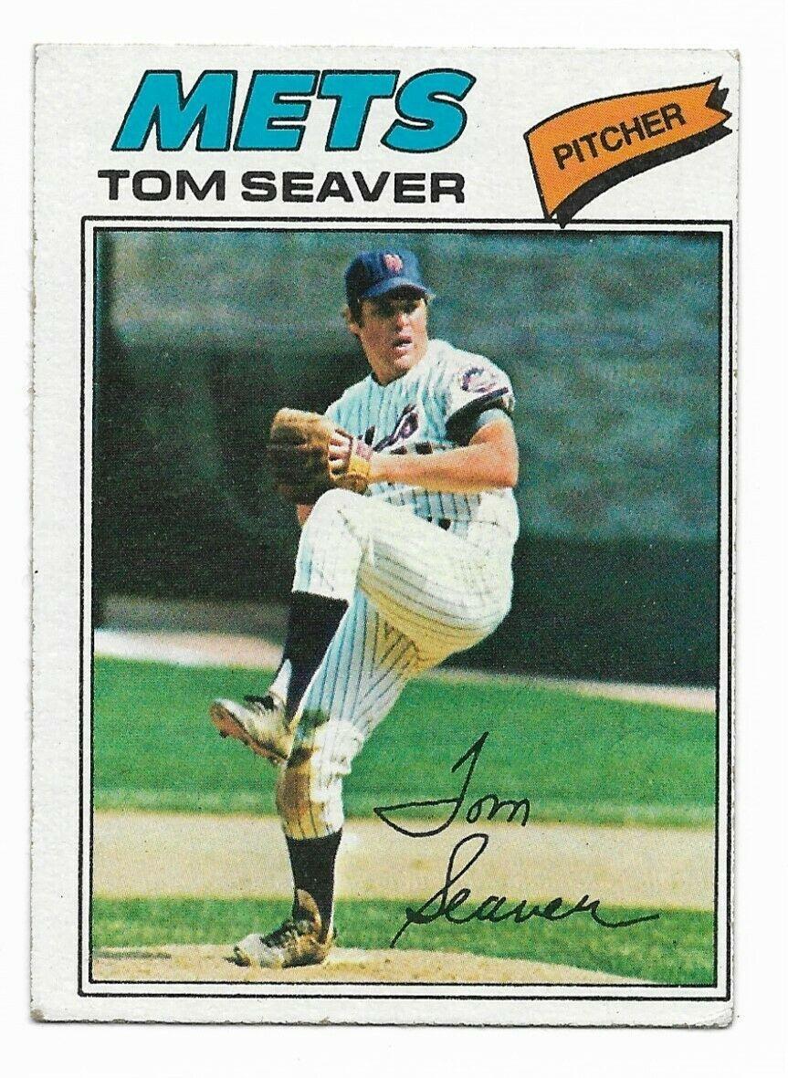 1977 Topps #150 Tom Seaver, New York Mets HOF