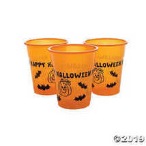 """Happy Halloween"" Disposable Plastic Cups - $10.36"