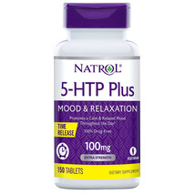 Natrol 5-HTP Plus Mood and Relaxation 100 mg., 150 Time Release Tablets - $26.55
