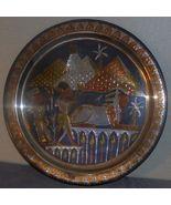 Large metal plaque Sphinx Egypt worship - $60.00