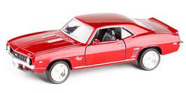 1969 Chevrolet Camaro SS 1:36 Coupe Alloy Sport Vintage Car Model Metal ... - $14.99