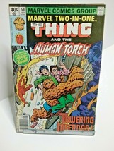 Marvel Two In One The Thing and Human Torch Issue 59 January 1980 - $2.50