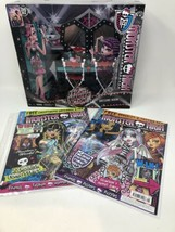 Monster High Frights, Camera, Action! Dressing Room Playset + Bonus  NEW... - $24.13