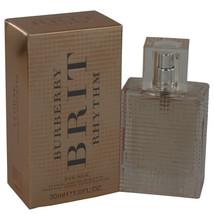 Burberry Brit Rhythm Floral by Burberry 1 oz EDT Spray for Women - $29.71