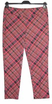 XL J McLAUGHLIN Red Highland Plaid Catalina Cloth Newport Capri Pants NW... - $69.29