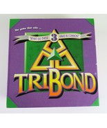 TriBond Board Trivia Game, Very Good Condition, Family Game, Vintage 1992 - £8.69 GBP