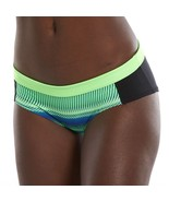 Nike Colorblock Hipster Bikini Bottoms, Size: Small, Green Oth - $32.99