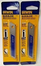Irwin 2086403 3-Pack Bi-Metal Snap Blades 18MM Blue Blade 2PKS - $3.27