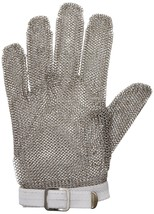 San Jamar MGA515S Steel Mesh 5 Finger Cut-Resistant Gloves, Small - $49.99