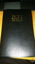 1962 Holy Bible King James Version with Helps/Red Letter Zondervan Leather  - $12.94