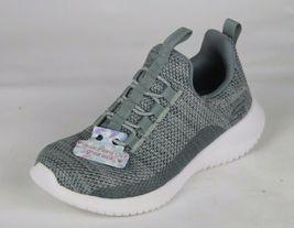 Skechers Jugend Mädchen Schuhe Sneaker Grau ohne Bügel Größe 10.5 image 3