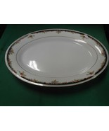 "Beautiful LYNNS Fine China ""Bennington""  ...PLATTER 14"" x 9.75 - $9.49"