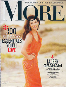 Primary image for More March 2010 Magazine Lauren Graham