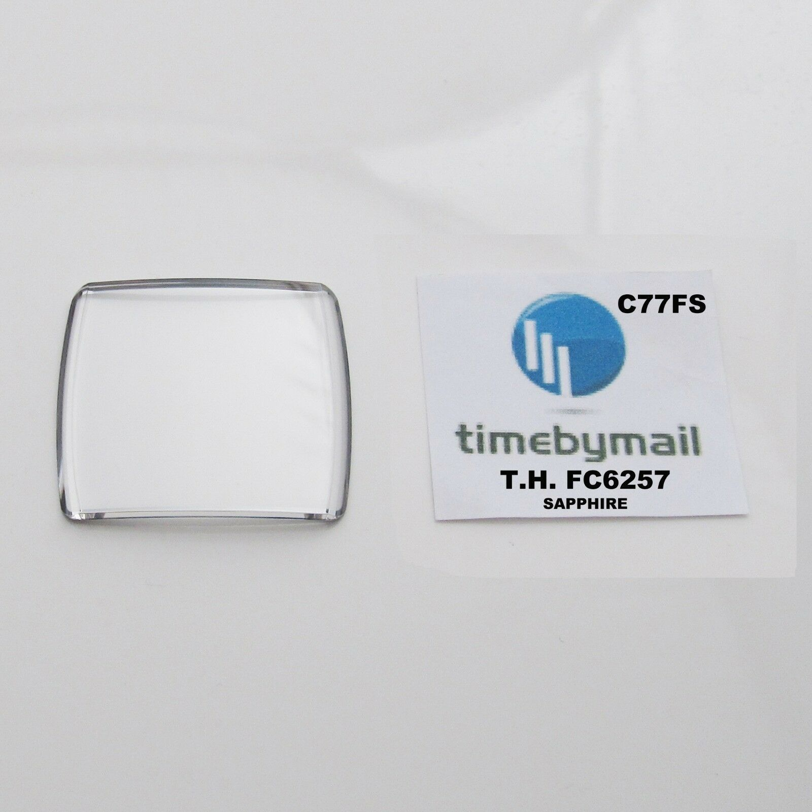 Primary image for For TAG HEUER MONACO CAL2110 FC6257.13 Sapphire Watch Crystal Spare Part C77FS