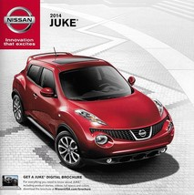 2014 Nissan JUKE sales brochure catalog sheet US 14 S SV SL Midnight NISMO - $8.00