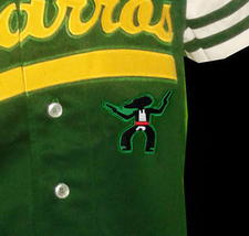 Kenny Powers Charros Eastbound And Down Tv Button Down Baseball Jersey Any Size image 3