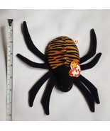 """RARE Vintage 1996 """"Ty"""" Beanie Baby """"Spinner"""" the Spider, *damaged HANG T... - $9.46"""