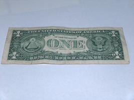 2006 $1 Dollar Bill US Bank Note Date Year Birthday 3130 1953 Fancy Money Serial image 2