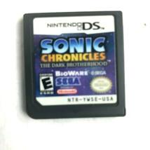 Nintendo DS Sonic Chronicles: The Dark Brotherhood 2008 BioWare - $14.84