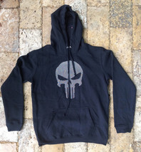 Marvel Black Hooded Sweatshirt, Black, Size M