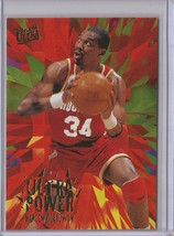 1995-96 Fleer Ultra Hakeem Olajuwon Ultra Power #8 Basketball Card - $3.75