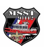 US Coast Guard MSST 91112 New Orleans Sticker  - $9.89