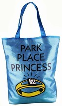 Monopoly Park Place Blue Princess Tote