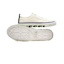 DIESEL S-Astico LC Logo Mens Whisper White Fashion Sneaker Size 10 - $121.54
