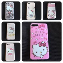 Hello Kitty Silicone Case for iPhone 7, iPhone 7 Plus Baby Pink - $9.00