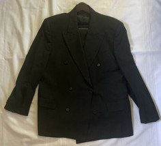 Silvio Bresciani Gold Made in Italy 6 Button Double Breasted Suit Matchi... - $93.50