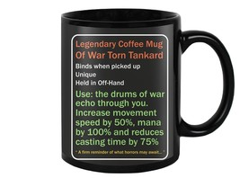 Legendary Coffee Tea Mug Cup Gift Ship - $17.75