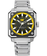 Caterpillar Analog Black Dial Stainless Steel Men`s Watch New With Box - $249.30