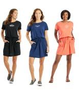 Life Is Good Women's Textured Slub Short Sleeve Draw String Pocket Dress... - $58.00