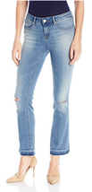 William Rast Cropped Chelsea Wash Flared Jeans,Size 28, MSRP $79 - $33.65
