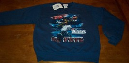 NEW ENGLAND PATRIOTS NFL FOOTBALL SWEATSHIRT YOUTH MEDIUM NEW w/ TAG - $18.32