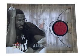 2002-03 Fleer Premium Court Collection #6 Alonzo Mourning Game Worn Warm... - $4.99